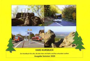Harz-Kursbuch in der Neuauflage 2020 erschienen