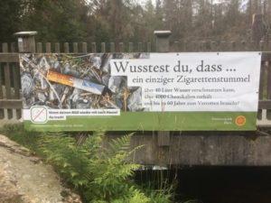 Vermüllung ist auch im Nationalpark Harz ein zunehmendes Problem