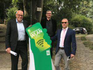 Kostenfrei ins Netz: WLAN im Landschaftspark Spiegelsberge