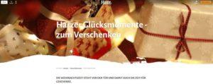 Webseite Harzer Glücksmomente