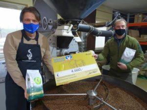 Kaffee für den Luchs – eine Spende für die Artenvielfalt