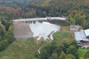Sösetalsperre: Das Unterwasserbecken wurde generalüberholt