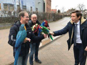 Bussenius-Brüder aus dem Halberstädter Tiergarten verabschiedet
