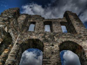 Wasserschloss an der Sösetalsperre wieder zu sehen