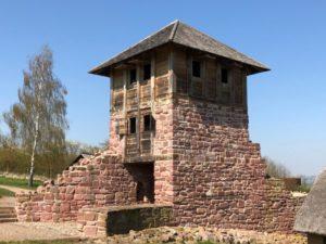 Königspfalz Tilleda, Zangentor mit beghbarem Tor