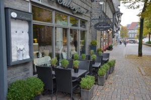 Außenansicht Restaurant Aubegine in Goslar