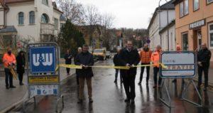 Der zweite Bauabschnitt in der Herzogstraße in Blankenburg beginnt
