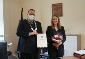Laura Röhl neue Leiterin im Fachbereich Recht, Ordnung und Soziales