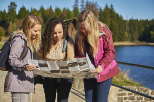 Auf insgesamt vier Schnitzeljagden lässt sich die Vielfalt des UNESCO-Welterbes im Harz auf eigene Faust entdecken.