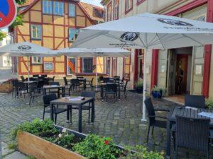 Außenansicht Restauraunt Die Olive in Halberstadt