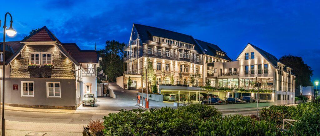 Außenansicht Hotel Villa Saxer