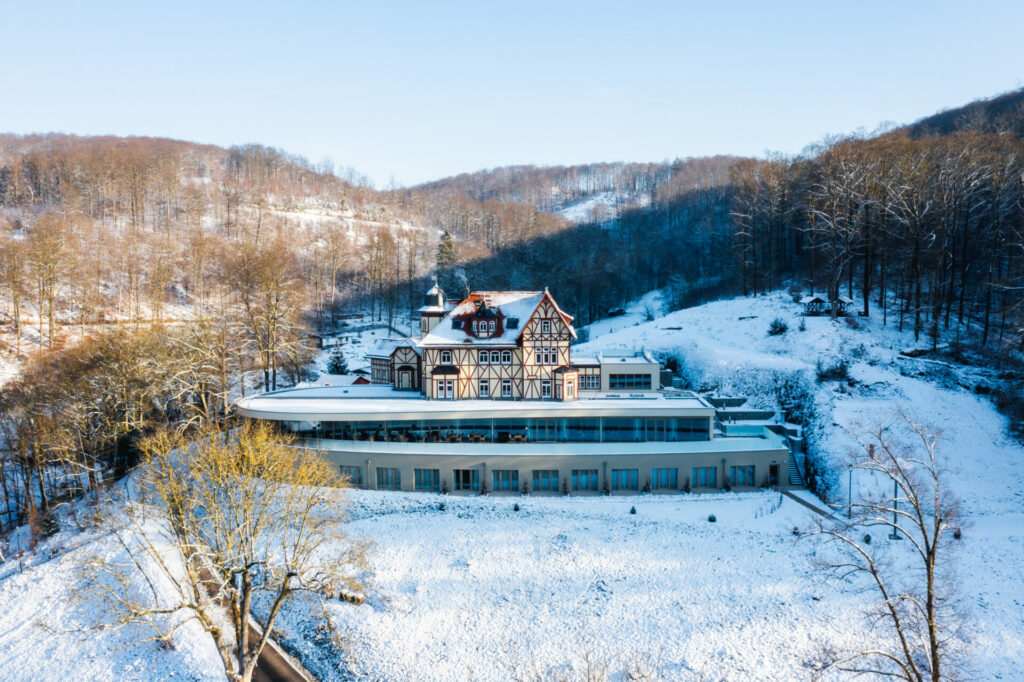 Das Hotel Zweitwerk im Winter