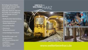 Museen im UNESCO-Welterbe im Harz starten gemeinsame Rabattaktion