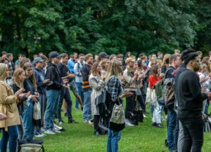 Begrüßung der Studienanfänger an der Hochschule Harz