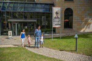 Außenansicht Lyonel-Feininger-Galerie: Museum für grafische Künste